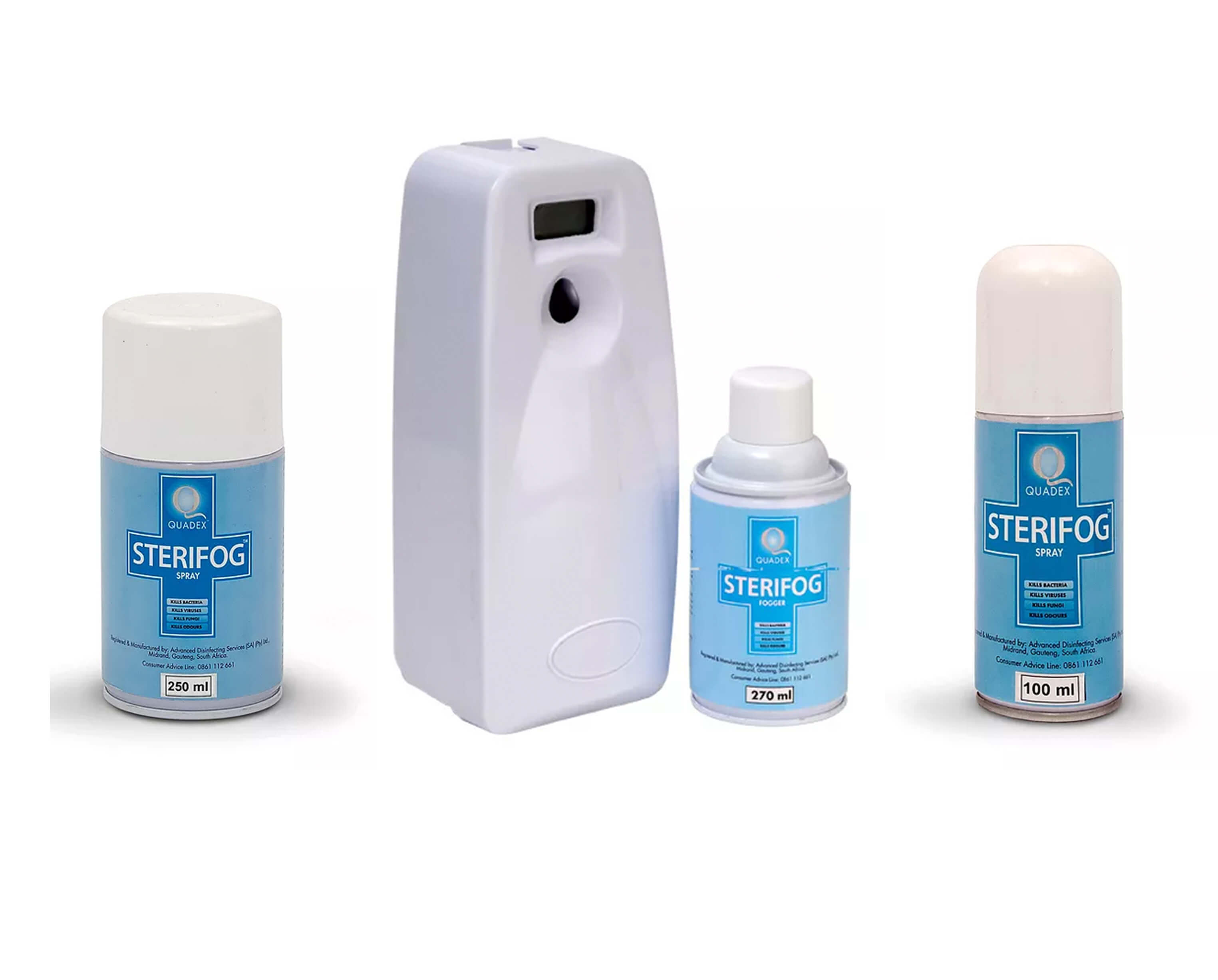 STERIFOG® CONTINUOUS FOGGING - HIGH LEVEL DISINFECTING FOGGER & SPRAY